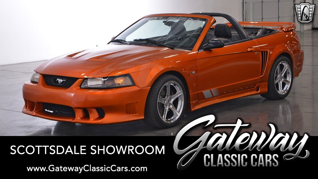2004 Ford Mustang Saleen Convertible For Sale Gateway Classic Cars