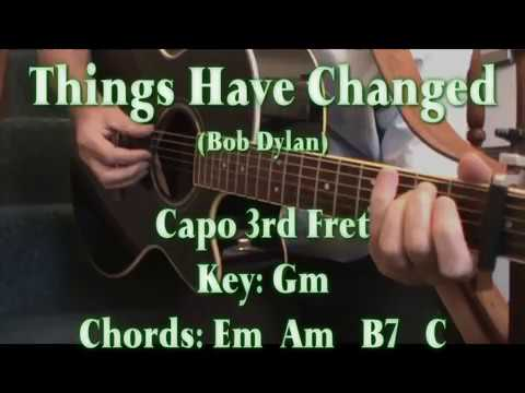 Bob Dylan Things Have Changed Doovi