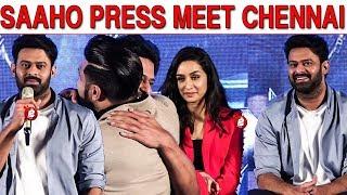 Saaho Press Meet Tamil | Chennai | Prabhas | Shraddha Kapoor | Sujeeth | Arun Vijay | Ghibran