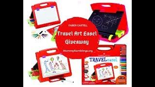 Faber Castell Do Art Travel Easel Giveaway