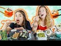 SUSHI MUKBANG MET LINDA DE MUNCK! | Kristina K ❤