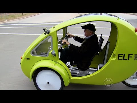 A Look At Elf The Solar Powered Bicycle Car Hybrid Youtube