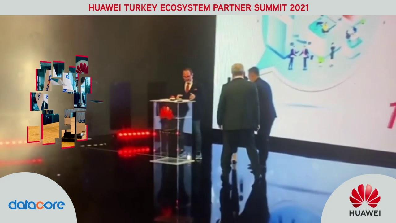 Huawei Turkey Ecosystem Partner Summit –Datacore is the Best IT Partner of 2020