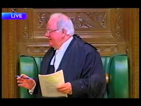 House of Commons, Speaker Michael Martin, take a tablet