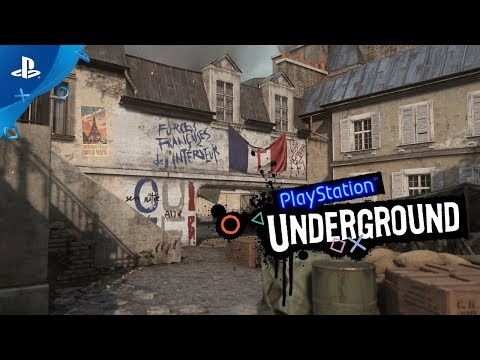 Call of Duty: WWII - The Resistance PS4 Gameplay | PlayStation Underground