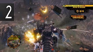 RED FACTION GUERRILLA DEMONS OF THE BADLANDS - Walkthrough Part 2 Gameplay No Commentary