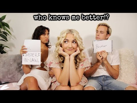 Brother VS Sister-In-Law | Rydel Lynch