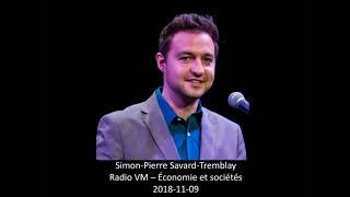 Simon-Pierre Savard-Tremblay - Économie et sociétés -  Décès de M. Bernard Landry