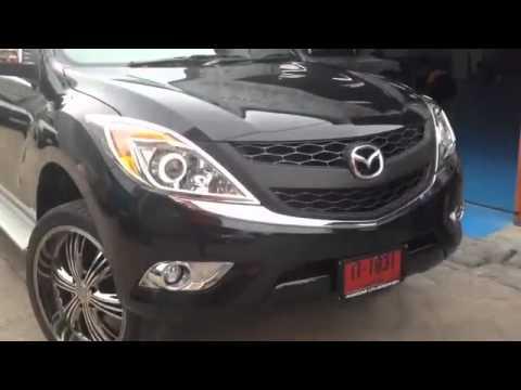 ไฟหน้าโปรเจคเตอร์ Mazda BT-50 install Bi-Xenon PROJECTOR LENS OSAKA