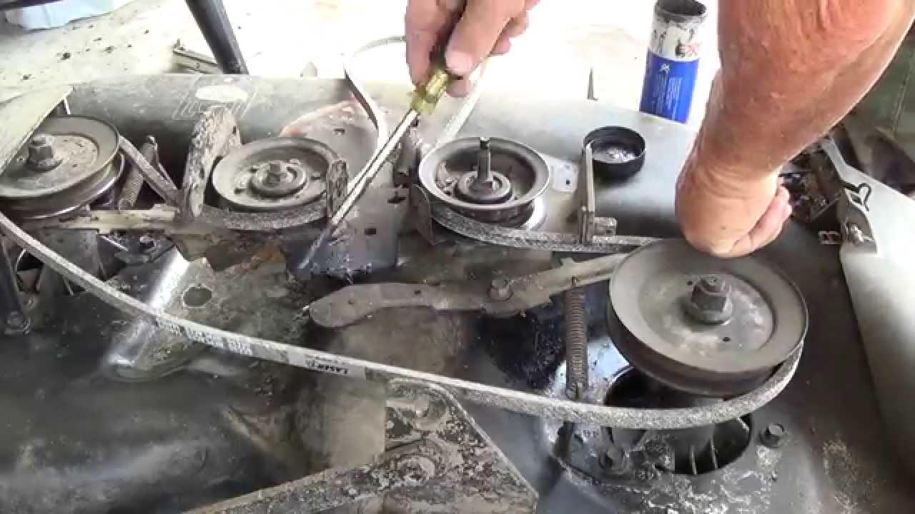 Mtd Yard Machine Wiring Diagram Another Craftsman Lt1000 42 Quot Deck Belt Replacement Oil