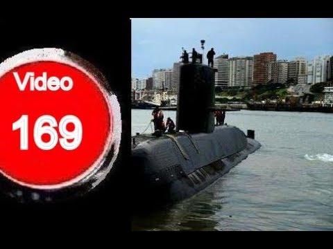 """Submarino A.R.A""""San Juan"""" desde Mar del Plata(mentiras en las redes)"""