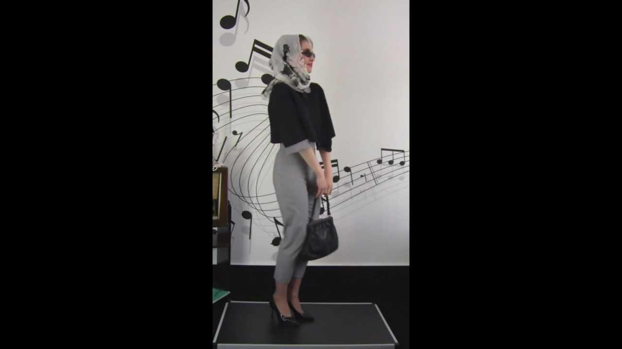 50th Caprihose Pepita + Wendejacke - YouTube