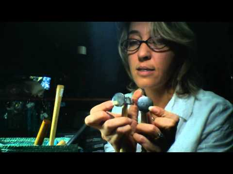 How to hammer wire for wire wrapped jewelry making Part 1 of 2