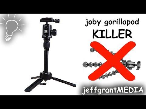 Joby Gorillapod Killer | Sirui 3t-35K Best Vlogging Tripod 2017