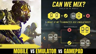 COD Mobile New Matchmaking Policy Update | No Emulator vs Mobile vs Gamepad | Hindi