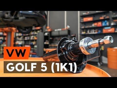 Как заменить переднюю стойку амортизатора наVW GOLF 5 (1K1) [TUTORIAL AUTODOC]