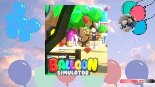 ROBLOX BALLOON SIMULATOR | Family Friendly GamePlay