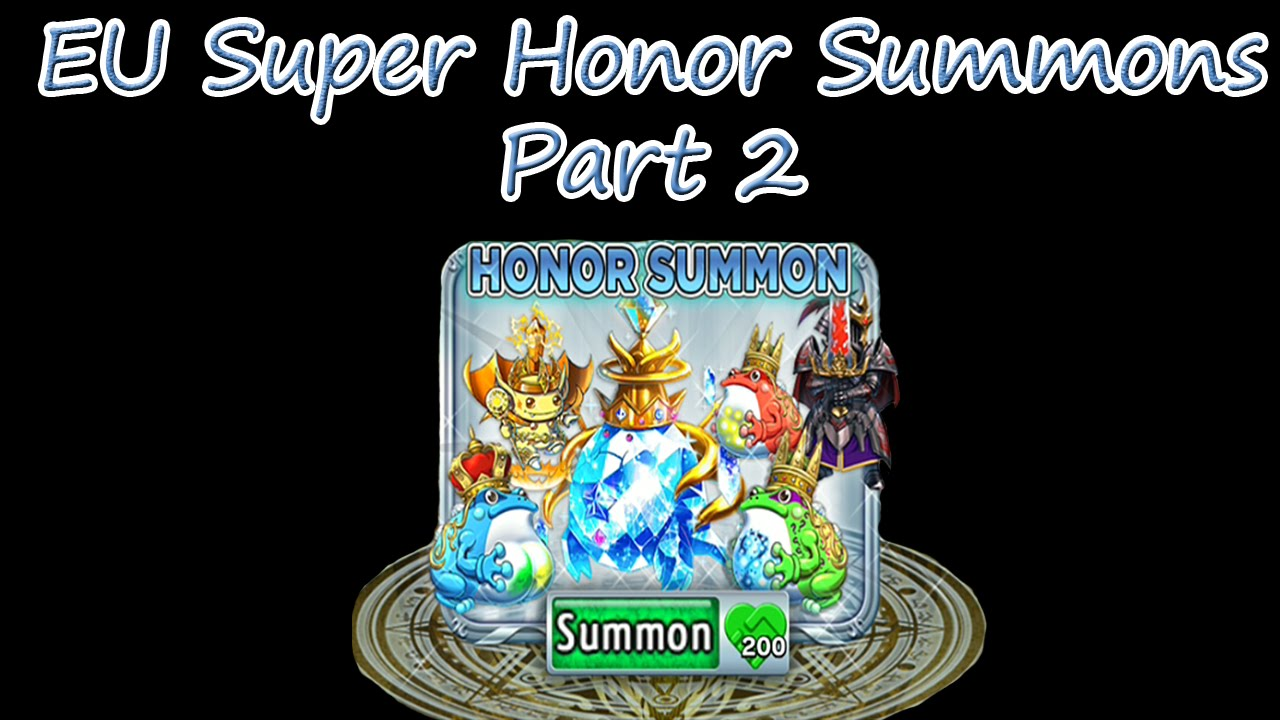 brave frontier how to get honor drops