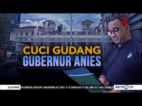 Kontroversi Cuci Gudang Gubernur Anies