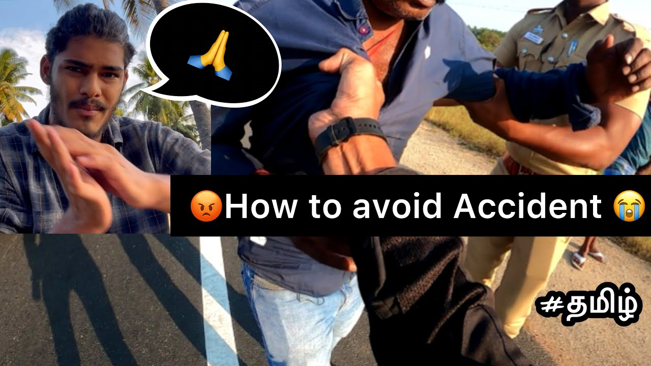 😡How to avoid Accident   Tamil   bike lover   accident   police   motovlog   vasan enfielder  
