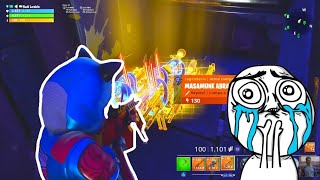 😊😭THIS PERSON MADE A GREAT ACT... FORTNITE SAVE THE WORLD -valde