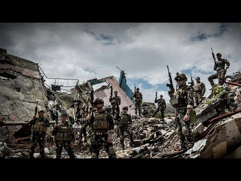 Scout Rangers Everyday life Marawi