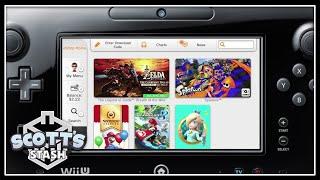 Browsing the Nintendo eShop on Wii U