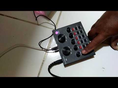 review sound card V8