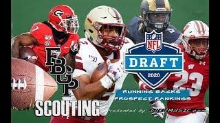 Football Gameplan's 2020 NFL Draft Prospect Rankings: Running Backs