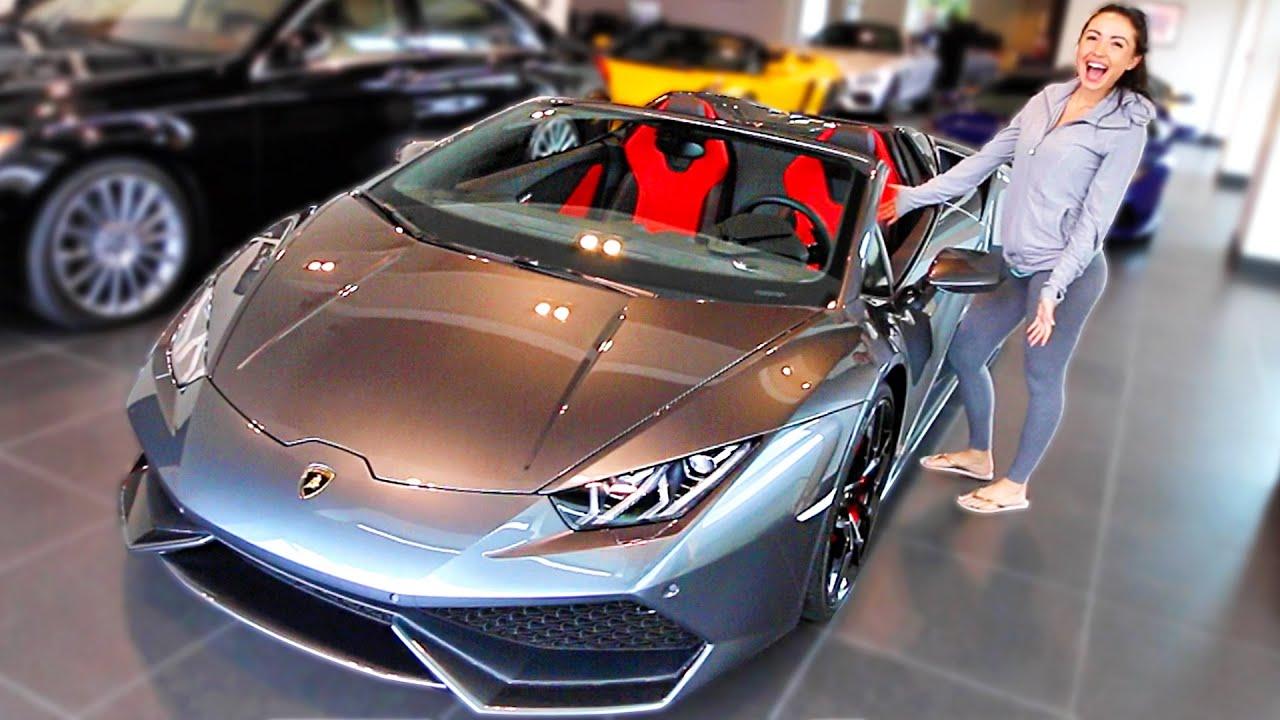 His New Lamborghini Youtube