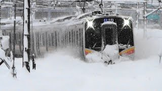 2019豪雪と貨物&電車総集編 Omnibus of heavy snowfall and train winter of 2019