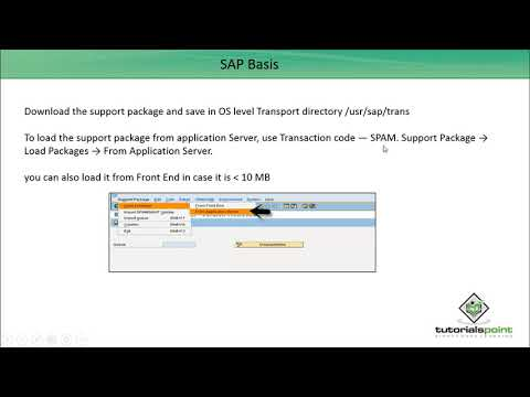 SAP Basis - Implementing Support Package