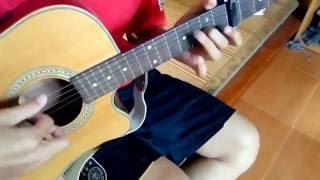 M4U Band - Mưa rơi lặng thầm (guitar solo/ fingerstyle)
