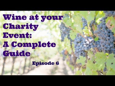 Wine at your Charity Event - A Complete Guide to raising money at Charity Auctions - Part 6