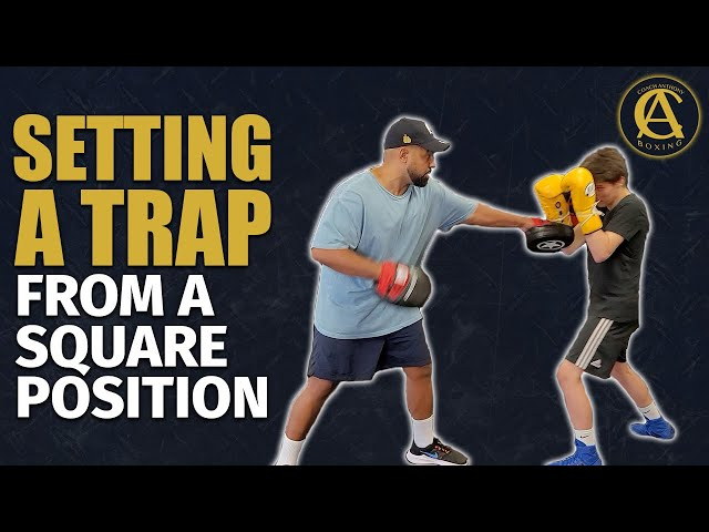 How to set a Trap in Boxing From a Squared Position [ Very Sneaky ]