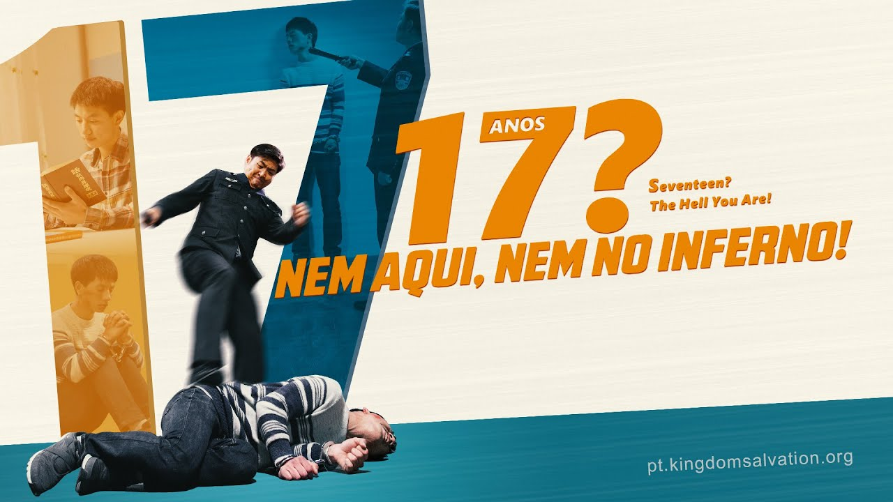 """Filme gospel lançamento """"17? Nem aqui, nem no inferno!"""" (Trailer)"""