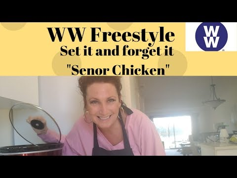 Cook With Me*Set It And Forget It Senor Chicken*WW Freestyle