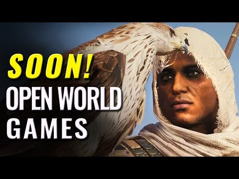 37 Upcoming Open World Games of 2017 & 2018 on PC, Switch,  PS4, XB1