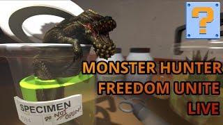 QBG Plays- Monster Hunter Freedom Unite LIVE