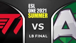 T1 vs ALLIANCE - LB FINAL - ESL One Summer 2021 Dota 2 Highlights