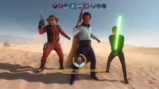 Star Wars Battlefront: Lando Is op