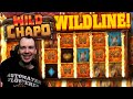 WildLine BIG WIN Wild Chapo Slot and Nitropolis 2 Super Bonus Buy and Super Bonus at Hand of Midas