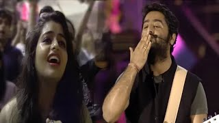 arijit-singh-giving-flying-kiss-to-fan-girl-and-she-got-emotional-mtv-india-tour-2018