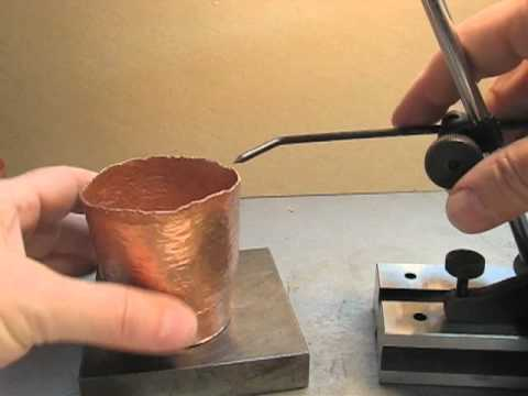 Raise Copper Vessel 4- Beaker Part 4 finish