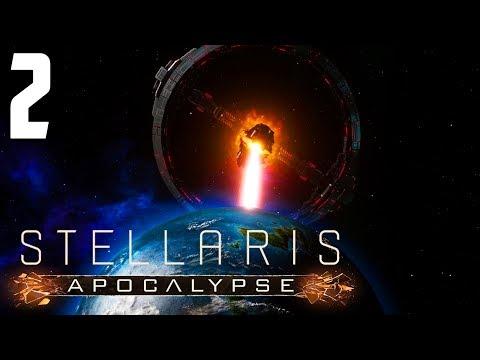 A PRIMITIVE NEW SPECIES! | Stellaris 2.0 Apocalypse Gameplay Let's Play #2