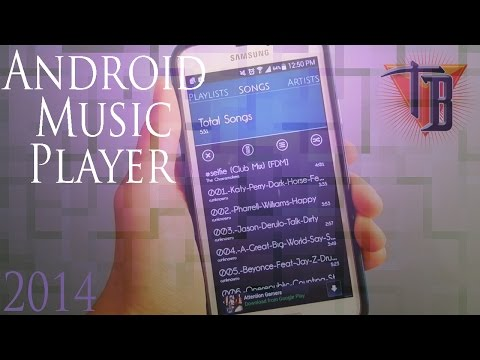 BEST Android Music Player App August 2014 by bitsy
