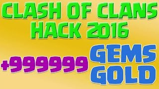 Clash Of Clans Hack 2016-Clash of Clans Hack 999999 Gems and Gold