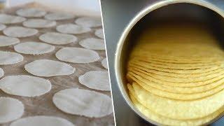 Homemade Pringles- Bon Appétit Test #1