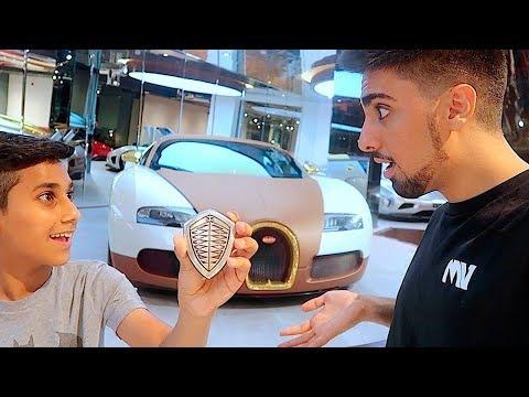 Als Papa dem jüngeren Sohn einen Bugatti kaufte ...