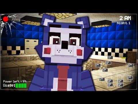 JE TEST UNE NOUVELLE MAP ! ( FNAF Minecraft )